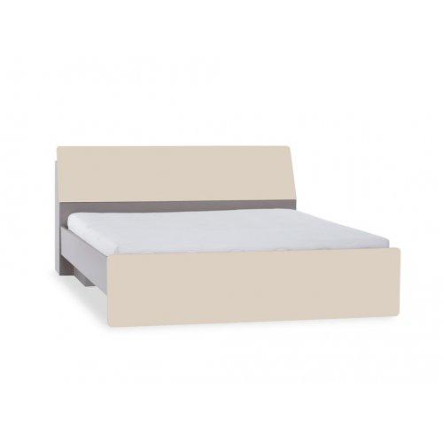 Кровать с изголовьем с ящиком 160х200 2pir