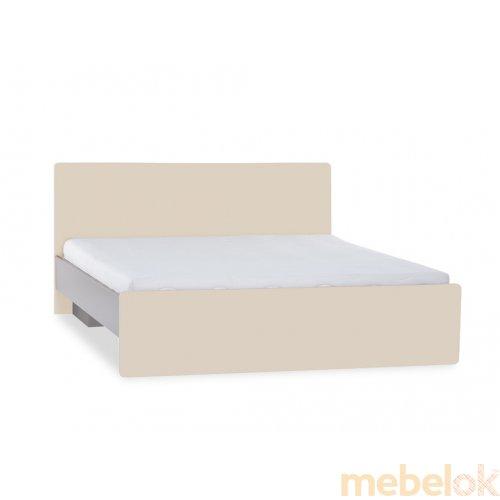 Кровать с плоской спинкой 140х200 2pir