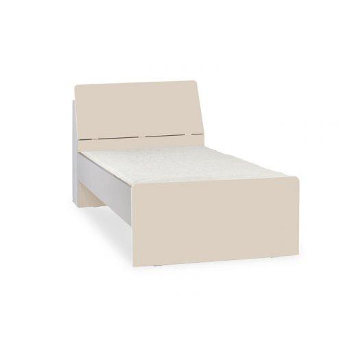 Одноместная кровать с изголовьем с ящиком 2pir