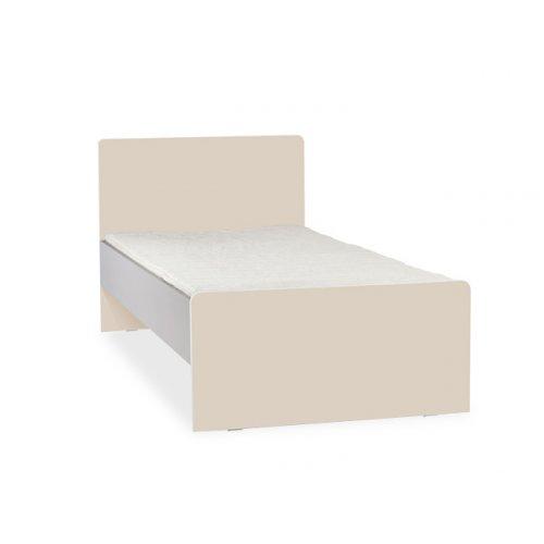 Кровать с плоской спинкой 90х200 2pir