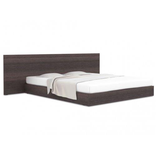 Кровать с плоской широкой спинкой 140х200 Hi Fi
