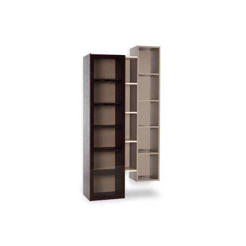 Открытый стеллаж с дверями из стекла Hi Fi