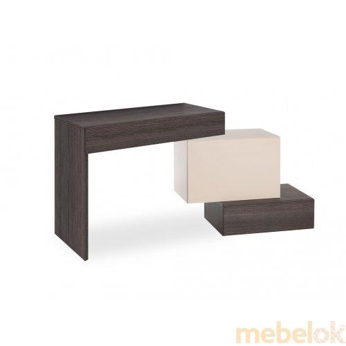 Туалетный столик с комодом узким Hi Fi