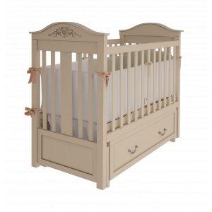 Детская кроватка Леонардо 120х60 с маятниковым механизмом