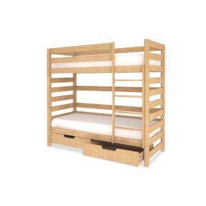 Двухъярусная кровать 90х190
