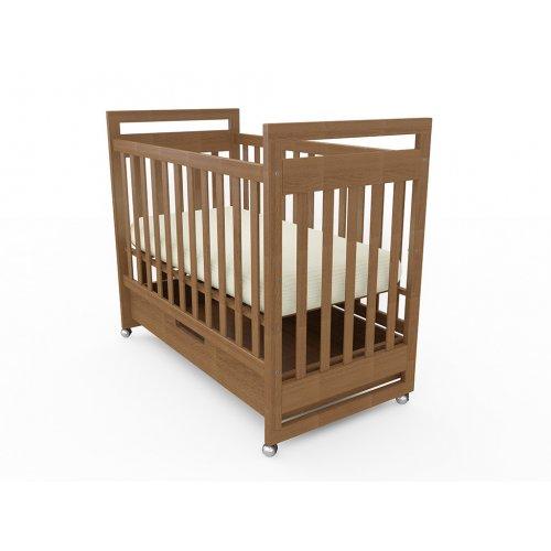 Детская кроватка Vito на колесиках с ящиком