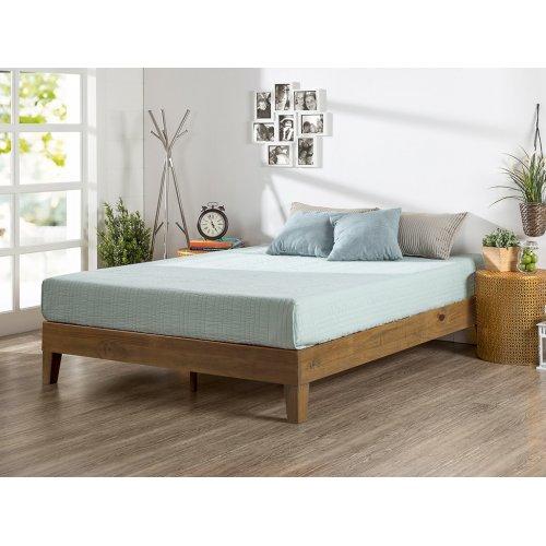 Кровать-подиум, царга 3 см. 140х190 из ясеня