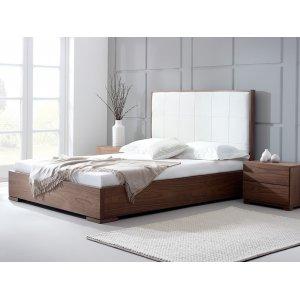 Кровать с подъемным механизмом Porto 140х200 из ясеня