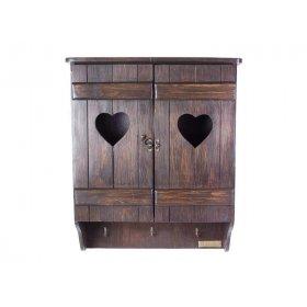 Шкафчик навесной Марсель коричневый