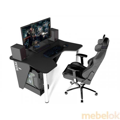 Стол геймерский игровой IGROK-3 от фабрики Zeus