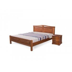 Дерев'яне ліжко Лондон 160х200 без підйомного механізму