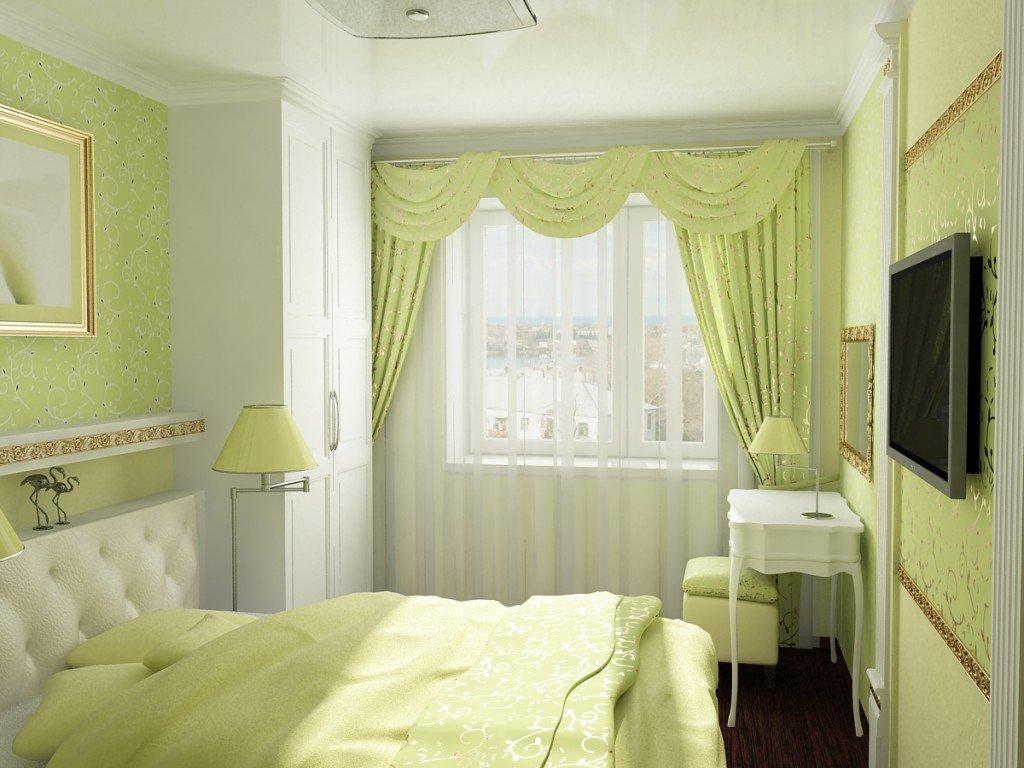Ремонт спальни 12 кв.м своими руками фото обои