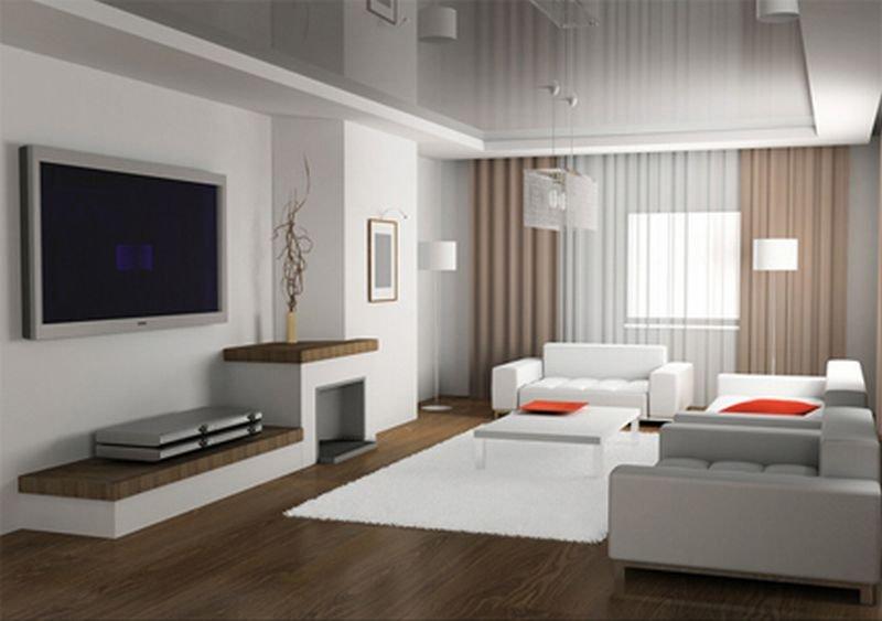 Гостиная минимализм фото
