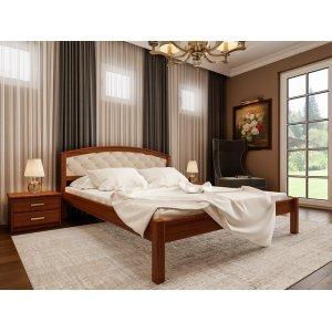 Ліжко Британія ЧДК 180х200 з м'яким узголів'ям