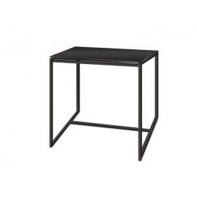 Журнальный стол Куб 450 антрацит/bl