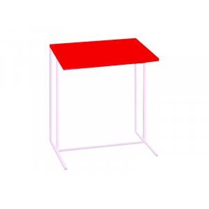 Стол приставной для ноутбука Comfort A440 red/white