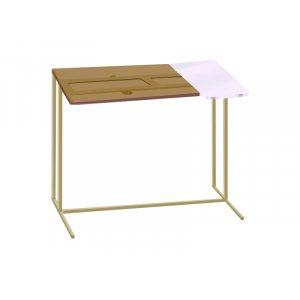 Стол приставной для ноутбука Comfort A600 bronze 8/white/beige