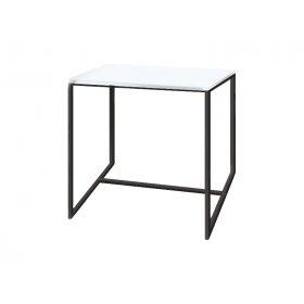 Стол журнальный Куб 400 жемчужный/bl