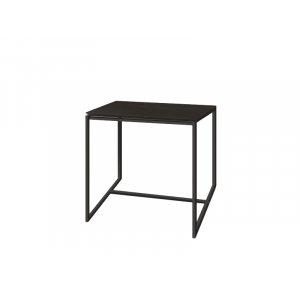 Журнальный стол Куб 450 венге/bl