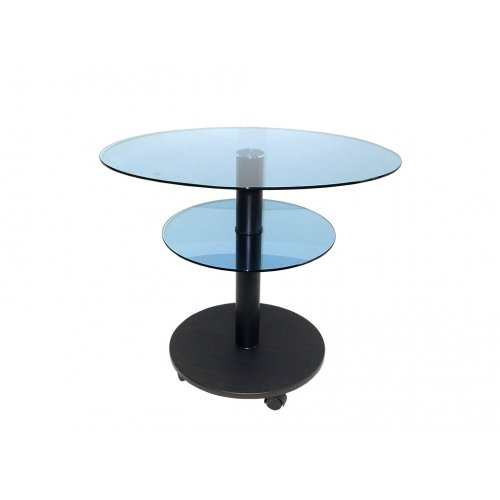 Стол журнальный LIGHT O6 blu/bl60 дуб венге