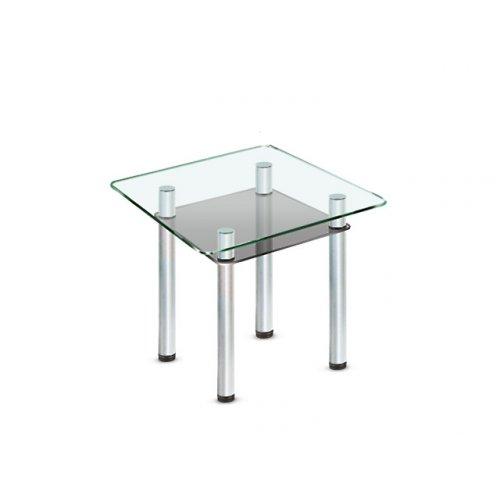 Стеклянный обеденный стол Kvadro C-G