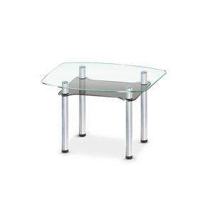 Стеклянный обеденный стол Rondo C-G