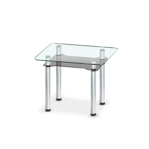 Стеклянный обеденный стол Tetra mini C-G