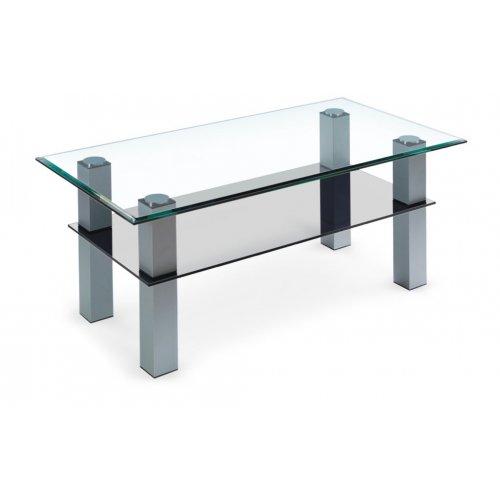 Стеклянный журнальный стол Аспект LUX