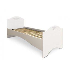 Кровать односпальная АС-09 Ассоль белая