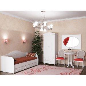 Спальный гарнитур для девочки Ассоль-2