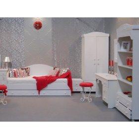 Спальный гарнитур для девочки Ассоль-8