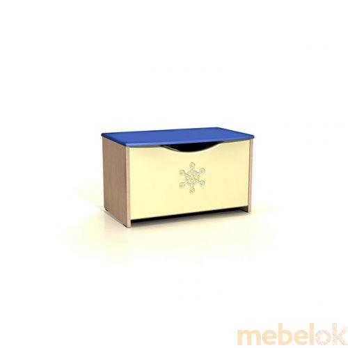 Сундук для игрушек ДК-10 Капитошка