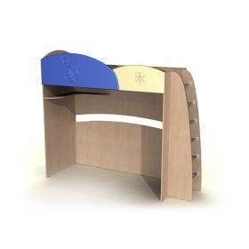 Кровать-чердак ДК-12 80х190 Капитошка