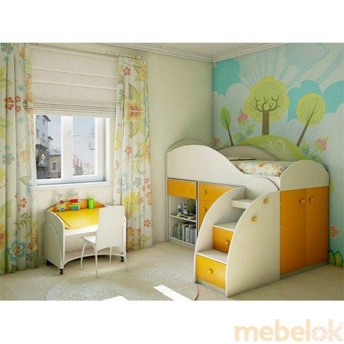 Детская спальня Маугли оранж