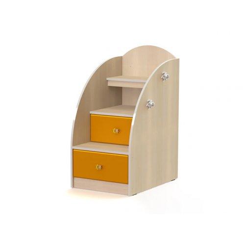 Лестница-тумба МДМ-3 Маугли оранж