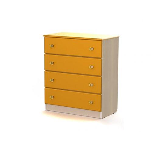 Комод МДМ-5 Маугли оранж