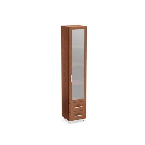 Шкаф с ящиками и стеклом ШОМ-3