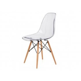 Стул Eames DSW Chair прозрачный