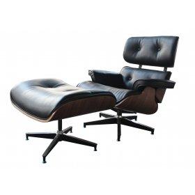 Кресло Eames Lounge Chair с оттоманкой