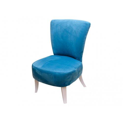 Кресло Квадро 1 голубое