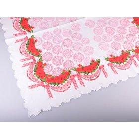 Скатерть розы 90x90
