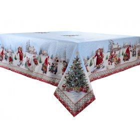 Скатерть новогодняя с люрексом hiver