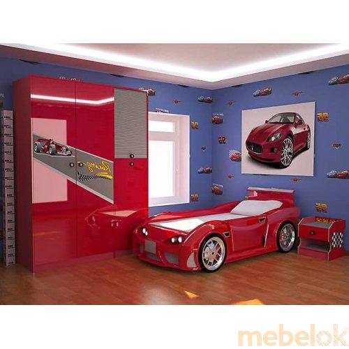 Зеркальное отображение - Детская спальня Форсаж
