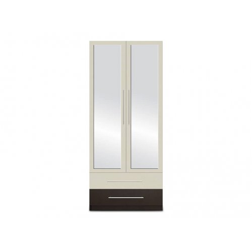 Гардероб 2-дверный с зеркалом Мажестик