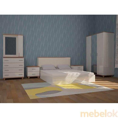 Зеркальное отображение - Белая спальня Мода