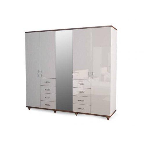 Шкаф пятидверный Мода