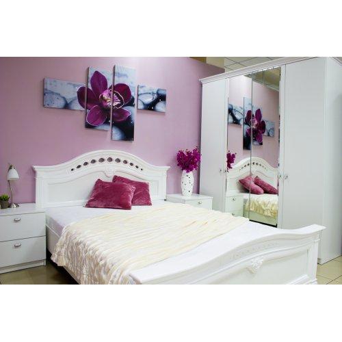 Спальный гарнитур Рената белая