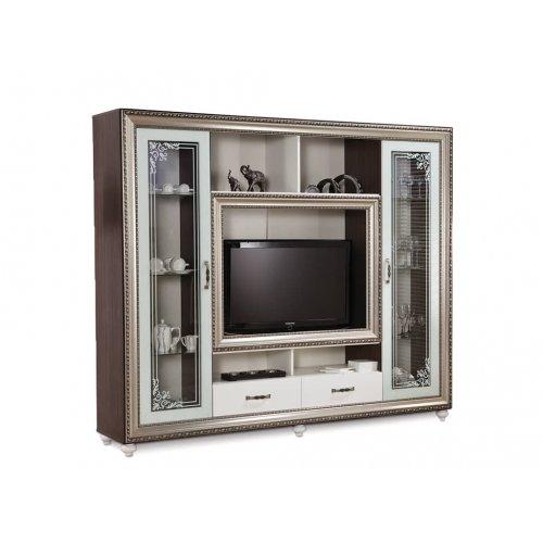 ТВ-витрина Элизабет белая