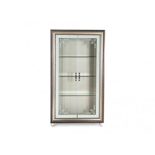 Витрина Элизабет с двумя дверьми