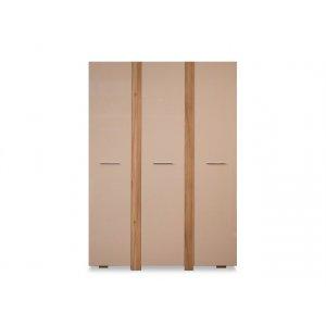 Шкаф гардеробный Прага трехдверный